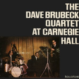 Dave Brubeck Quartet At Carnegie Hall Vinyl Highfidelity